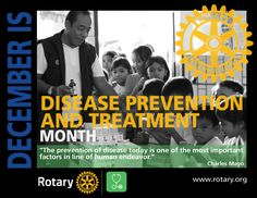 Disease Prevention & Treatment Month by CMC Rotary, Image