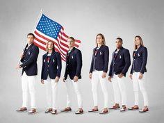 「ポロ ラルフ ローレン」がリオ五輪のアメリカチーム開会式入場行進用ユニフォームを発表!