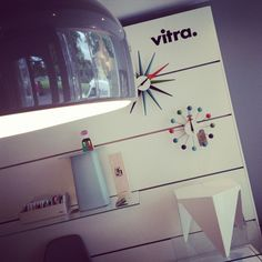 Our #vitra wall and #flos smithfield light looking pretty damn good!!!!
