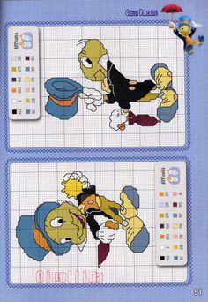 Gallery.ru / Фото #87 - Disney Speciale - Cipollina Disney Cross Stitch Patterns, Counted Cross Stitch Patterns, Cross Stitch Designs, Cross Stitch Bookmarks, Cross Stitch Charts, Lego Mosaic, Disney Stitch, Pixel Pattern, Cross Stitch Needles