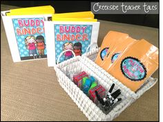 These Buddy Binders are a must have for every classroom! Once assembled, the activities are endless and run themselves. Perfect for early finishers or two students who need to practice working together! New teachers this is a great solution to teamwork p Classroom Fun, Future Classroom, Classroom Organization, Classroom Management, Learning Centers, Math Centers, Learning Stations, Literacy Stations, Early Learning