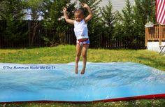 Big squishy water mat  how fun