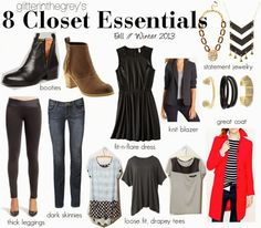 Must-have basics for a modern woman's closet today // Fall Must-Haves
