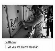 Omg Vic! Hahaha this is why we love him though xD