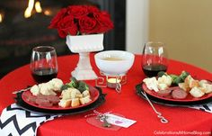 Valentines Day: Table For Two http://blog.homes.com/2013/02/valentines-day-table-for-two/# #ValentinesDay #DateNight