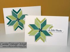 Quilted Christmas - Customer Thank You Cards