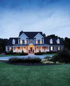 Farmhouse House Plan from BuilderHousePlans.com