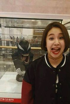 You guys see any difference? Kpop Girl Groups, Korean Girl Groups, Kpop Girls, Meme Faces, Funny Faces, Extended Play, Nayeon, Rapper, Twice Jyp