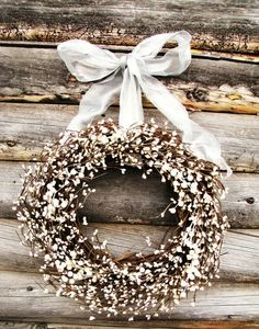 Elegant and rustic Wreath