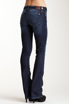 Sinclair Denim Vassar the Channel Jean...would love these with wedges.
