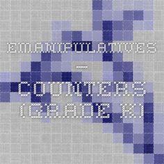 eManipulatives — Counters (Grade K)