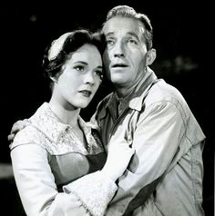 1955 High Tor. Julie Andrews and Bing Crosby. TV theater musical