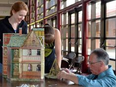"""Puzzling out a set for 'Mary Poppins' 