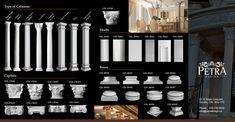 Fiberglass columns, round columns and square columns, precast column and cast stone column for interior and exterior. Architectural Columns, Interior Columns, Interior And Exterior, Square Columns, Stone Columns, Fiberglass Columns, Column Covers, Column Design, Cast Stone