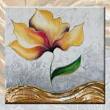 Risultati immagini per quadri moderni con fiori astratti | quadri ...
