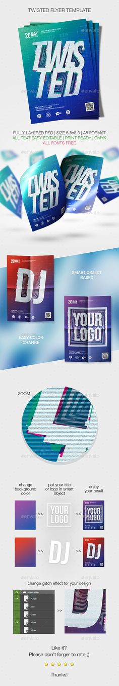 K Run Flyer And Poster Templates  Template Psd Templates And