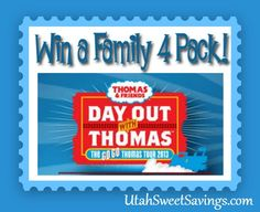 ac747273ff2 Utah Sweet Savings  Giveaway  4 Tickets to Day Out With Thomas in Heber on