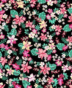Image via We Heart It #background #beautiful #black #cute #flowers #summer #wallpaper