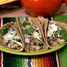 Michael Symon's Fish Tacos #TheChew