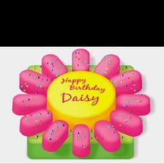Easy birthday cake for a girl