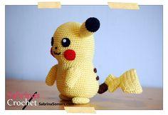 Sabrina's Crochet: Crochet pattern Pikachu (Pokemon)
