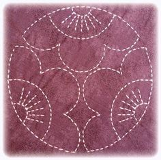 One World Fabrics: Shop | Category: Sashiko Supplies and Patternsreépinglé par Maurie Daboux.ღ. .