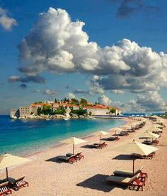 St. Stefan, Montenegro - This island resort in Montenegro has so much to offer and is a popular getaway destination for Europeans. TravelingWarrior.com highly recommends this paradise on a trip to Europe. (https://www.facebook.com/TravelingWarrior) #beach #Montenegro #StStefan