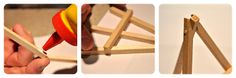 DIY: Mini easel / Como hacer mini atril | Agus Yornet Blog