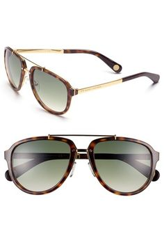 { Marc Jacobs Aviator Sunglasses }