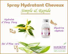 Plutôt que d'acheter un spray hydratant cheveux, faîtes-le vous même, c'est ultra facile et rapide ! Sans rinçage, ce soin maison va vous faciliter la vie