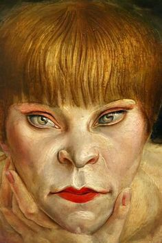 Woman on a Leopard Skin, 1927, Otto Dix,Cornell University