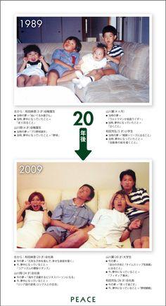 PEACE:1989年 → 2009年