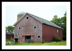 C33 Barn Framed Print By Bonfire #Photography