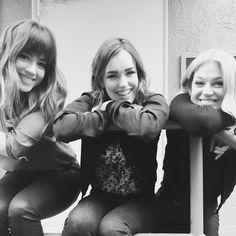 Chloe Bennet, Elizabeth Henstridge, and Adrianne Palicki. How cuute