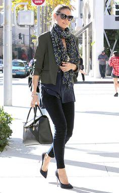 Model Behavior from Celebrity Street Style