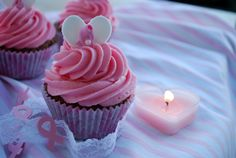"""Passion 4 baking """"Passion4Giving Chocolate Cupcakes with Cherry Cream Frosting"""