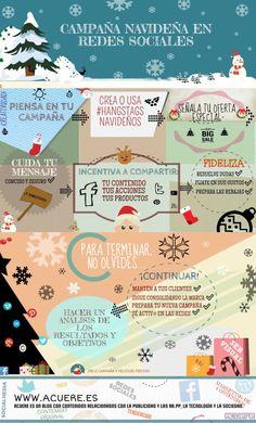 ¿Has planeado ya tu campaña de Navidad para las Redes Sociales? Sigue esta infografía para logar un éxito seguro. via @alfredovela
