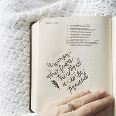 Proverbs Charm is deceitful, and beauty is vain, but a woman who fears the LORD is to be praised. The more I read the truths of the… Proverbs 31 30, Journaling, Bibel Journal, Bible Doodling, Bible Notes, Fear Of The Lord, Encouragement, Bible Verses Quotes, Scriptures