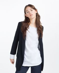 Blazers Women Blazers And Jackets Womens Outwear Below Knee Length Spring Autumn For Cocoon Bf Loose Oversize Thin Casual Fashion Coat Unequal In Performance