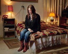 Patti Smith (in William S. Burroughs' bedroom)