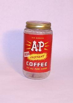 Vintage Coffee Jar. Junk Drunk Jones
