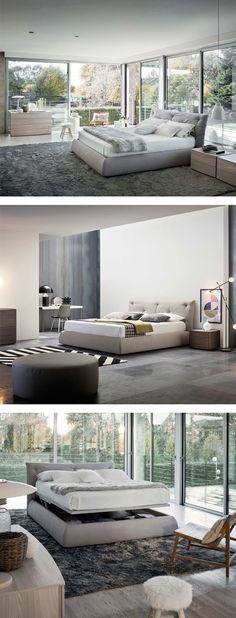 Wie wäre es heute mit einem Gammeltag im Bett? Das bequeme Designer Polsterbett Modo wäre ideal dafür. #Bett #Polsterbett #bed #Bettkasten #Schlafzimmer #bedroom #modern #zeitlos #Inspiration #Inneneinrichtung #wohnstil #wohntrend #home #einrichten #wohnen #interiordesign #interiordecorating #Möbel #Design #comfy #Livarea #Novamobili