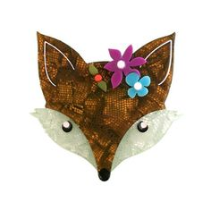 Erstwilder Latest Collection - Old Friends, New Colours Fox Crafts, Fox Face, Folk Fashion, Fox Design, Vintage Brooches, Vintage Inspired, Girly, Retro, Collection