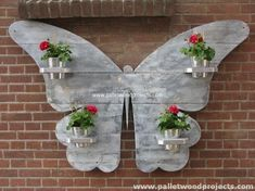 Pallet Butterfly Wall Art