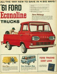 Ford Econoline truck ad