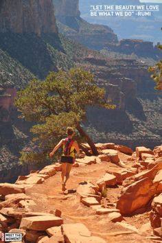 Trail Running the Grand Canyon. // I might just be getting dangerously inspired...