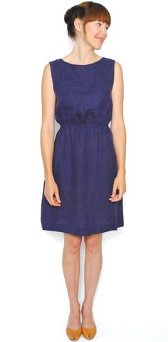 RAMIE DRESS - Curator. Several colors all flattering for you. I like the orange:) Made in CA. $120.