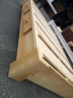 Diy Pallet Bed, Wooden Pallet Furniture, Bed Furniture, Furniture Design, Bed Designs With Storage, Diy Storage Bed, Platform Bed Designs, Diy Platform Bed, Bed Frame Design