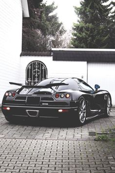 The Koenigsegg CCX and Trivata are one of the fastest supercars in the world. With as much power as a Bugatti Veyron and at half the weight. Ferrari, Maserati, Bugatti, Lamborghini, Koenigsegg, Sexy Cars, Hot Cars, My Dream Car, Dream Cars