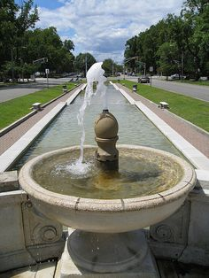Fountain at Bayonne Park by Clark Westfield, via Flickr